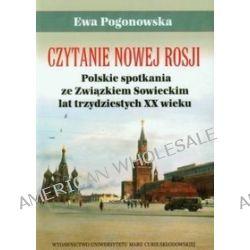 Czytanie Nowej Rosji - Ewa Pogonowska