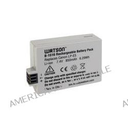 Watson LP-E5 Lithium-Ion Battery Pack (7.4V, 850mAh) B-1516 B&H