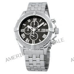 Wellington Herren-Armbanduhr XL Donegal Chronograph Edelstahl WN114-121