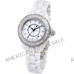 Time100 Hochtechnologie-Keramik-Strass-Damen-Armbanduhr W50018L.03A