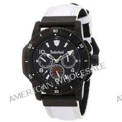 Timberland Herren-Armbanduhr XL Analog Quarz Leder TBL.13334JSB/02