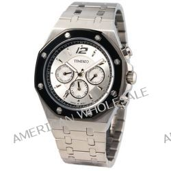 Time100 Klassische Uhrmeister-Serie Hochwertige Multifunktion-Edelstahl-Herren-Armbanduhr mit Butterfly-Faltschließe W70039G.01A