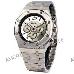 Time100 Klassische Uhrmeister-Serie Hochwertige Multifunktion-Edelstahl-Herren-Armbanduhr mit Butterfly-Faltschließe W70039G.02A