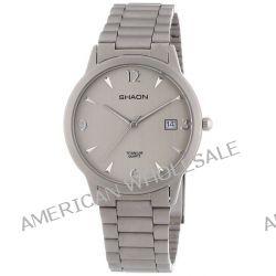 Shaon Herren-Armbanduhr XL Analog Quarz Titan 53-7029-88