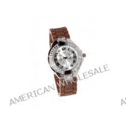 Sinobi Damen-Armbanduhr 1012358 XS Analog Quarz Edelstahl beschichtet 10065/MAR