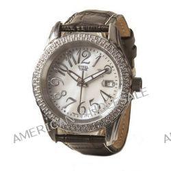 Steel Time Damen-Armbanduhr Etoile Analog Quarz Schwarz STF031 Biżuteria i Zegarki