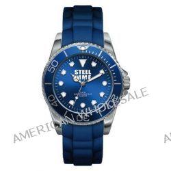 Steel Time Damen-Armbanduhr Originale Analog Quarz Blau STF004 Biżuteria i Zegarki
