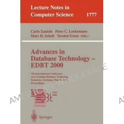 Advances in Database Technology - EDBT 2000 : 7th International Conference on Extending Database Technology, Konstanz, G Po angielsku