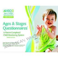 Ages and Stages Questionnaires: ASQ-3 Questionnaires on Paper and CD-ROM, A Parent-completed, Child-monitoring System by Jane Squires, 9781598570021.