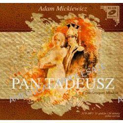 Pan Tadeusz - ksiażka audio na CD (CD) - Adam Mickiewicz