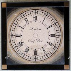 nowoczesny obraz, motyw zegar, Bing Ben, ADF 033