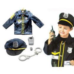 POLICJANT kostium POLICJANTA z akcesoriami 3-7lat