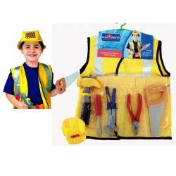 PRACOWNIK BUDOWLANY kostium akcesoria 3-7 lat