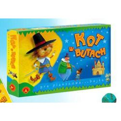 KOT W BUTACH   gra edukacyjna Alexander
