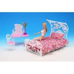 SYPIALNIA BALDACHIM mebelki lalka Barbie EduCORE