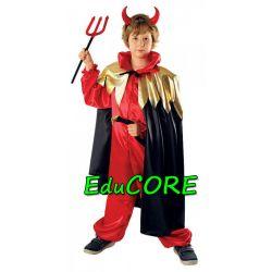 DIABEŁ Halloween karnawał kostium 110/116 EduCORE