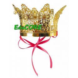 KORONA Z PERŁAMI KRÓLOWA LUX kostium strój EduCORE