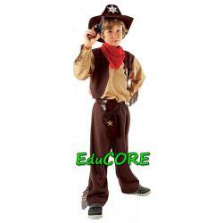 KOWBOJ Dziki Zachód strój kostium 110/116 EduCORE
