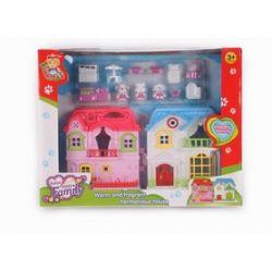 Domek dla lalek Barbie mebelki ll983  EduCORE