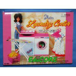 ŁAZIENKA PRALKA mebelki lalka Barbie 96001 EduCORE
