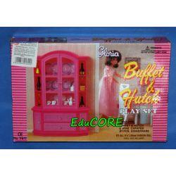 KREDENS 31EL mebelki dla lalek Barbie e059 EduCORE