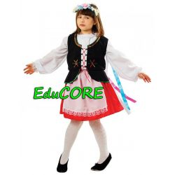 KRAKOWIANKA karnawał kostium strój 134/140 EduCORE