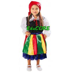 ŁOWICZANKA strój ludowy kostium 110/116 EduCORE