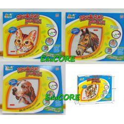 MOZAIKA pies kot tygrys koń ll686-ll403 EduCORE