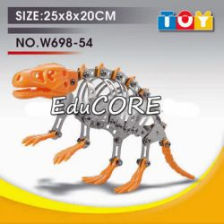 DINOZAUR model  klocki metal KL371 DIY EduCORE