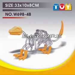 DINOZAUR model  klocki metal KL397 DIY EduCORE