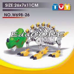 DINOZAUR model  klocki metal KL370 DIY EduCORE