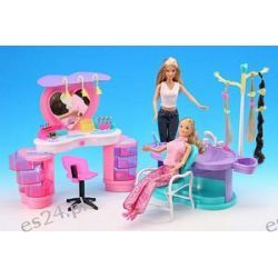 Salon FRYZJERSKI  mebelki lalka Barbie 2509 EduCORE