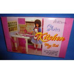 KUCHNIA  mebelki dla lalek Barbie e158 EduCORE
