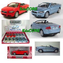 VOLVO C70 cabrio auto metal 1:36 KT5306W KINSMART