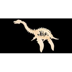 PLEZJOZAUR dinozaur model DIY drewno zd769 EduCORE