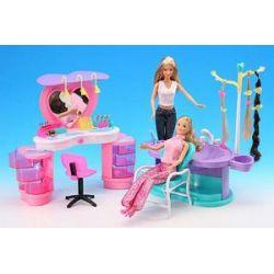 FRYZJERKA dla Barbie mebelki salon 2509 EduCORE
