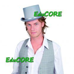 CYLINDER SZARY kapelusz kostium 04143EduCORE