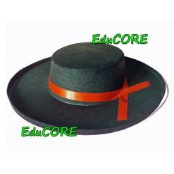 HISZPAN black kapelusz kostium cc039 EduCORE