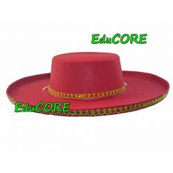 HISZPAN red kapelusz kostium cc040 EduCORE