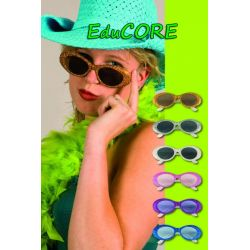 OKULARY FUNKY BROKAT super ca204 kostium EduCORE