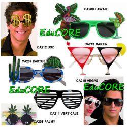 OKULARY na imprezę ca207-13 kostium EduCORE