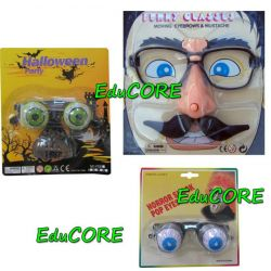 OKULARY HORROR nakręcane ca227-9 kostium EduCORE