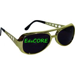 OKULARY na imprezę ELVIS ca049 kostium EduCORE