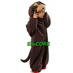 PIES brązowy piesek  strój kostium 110/116 EduCORE