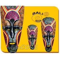 MASKA rzeźba do salonu Bali 50cm 146 EduCORE Antyki i Sztuka