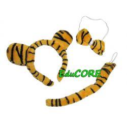 TYGRYS TYGRYSEK leopard kostium ekspresowy EduCORE