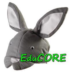 KRÓLIK KRÓLICZEK ZAJĄCZEK  czapka kostium EduCORE