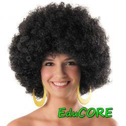 AFRO black peruka ABBA kostium EduCORE