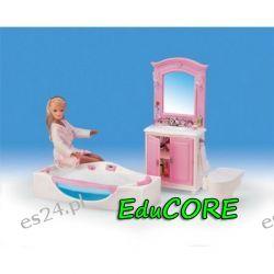 ŁAZIENKA SQUA mebelki lalka Barbie 24020 EduCORE