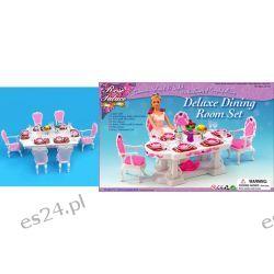 JADALNIA LUX mebelki lalka Barbie EE414 EduCORE